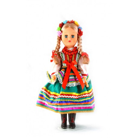Lublinianka 40 cm lalka polska