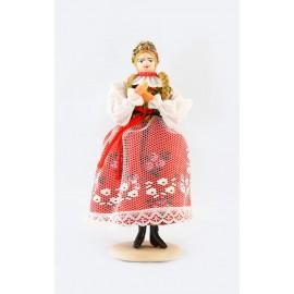 Lalka Krakowianka 18 cm