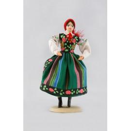 Lalka Łowiczanka 18 cm