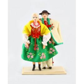 Lalki Para Góralska 18 cm