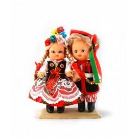 Lalki Para Krakowska 16 cm