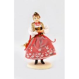 Lalka Krakowianka 12 cm